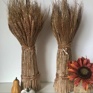 Autumn Harvest Stalk Bundles Set